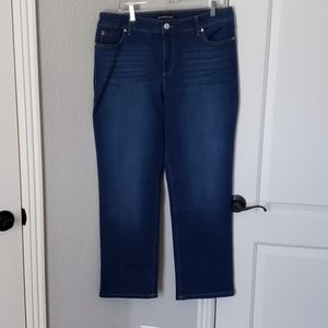 Bandolino Mandie Perfect Fit Jeans Size 14s
